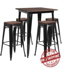 Flash Furniture CH-WD-TBCH-20-GG 31.5