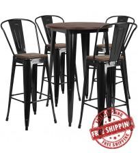 Flash Furniture CH-WD-TBCH-25-GG 30