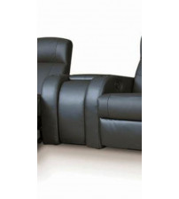 Coaster Furniture Cyrus Theater Collection Upholstery Motion Leather Wedge 600002