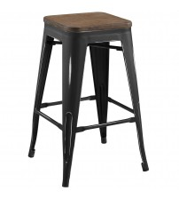 Modway EEI-2820-BLK Promenade Counter Stool Black