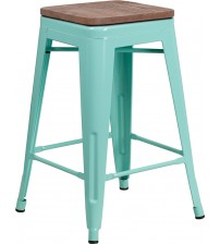 Flash Furniture ET-BT3503-24-MINT-WD-GG 24