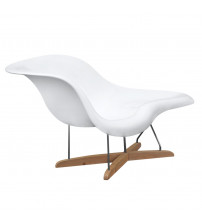 Fine Mod Imports Day Lounge FMI1120, White