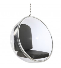 Fine Mod Imports Bubble Hanging Chair FMI1122, Black