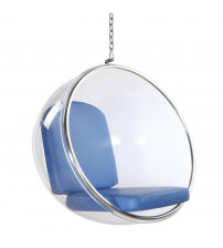 Fine Mod Imports Bubble Hanging Chair FMI1122, Blue