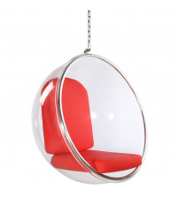 Fine Mod Imports Bubble Hanging Chair FMI1122, Red