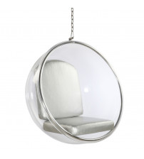 Fine Mod Imports Bubble Hanging Chair FMI1122, Silver