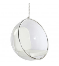 Fine Mod Imports Bubble Hanging Chair FMI1122, White