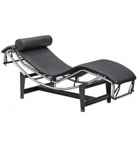 Fine Mod Imports Adjustable Chaise FMI1155, Black