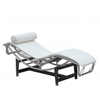 Fine Mod Imports Adjustable Chaise FMI1155, White