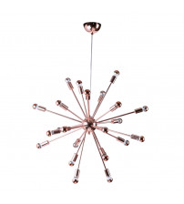 "Fine Mod Imports FMI8010-23-copper Spark Hanging Chandelier 23"" in Copper"