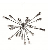 Fine Mod Imports FMI8010-23-SILVER Spark Hanging Chandelier 23