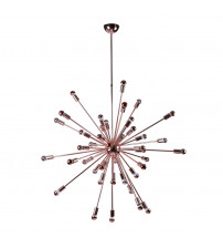 "Fine Mod Imports FMI8010-39-copper Spark Hanging Chandelier 39"" in Copper"