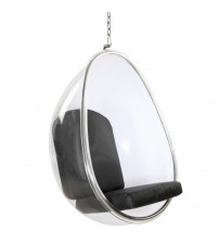 Fine Mod Imports Balloon Hanging Chair FMI9237, Black