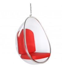 Fine Mod Imports Balloon Hanging Chair FMI9237, Red