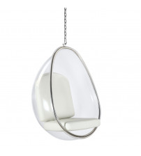 Fine Mod Imports Balloon Hanging Chair FMI9237, White