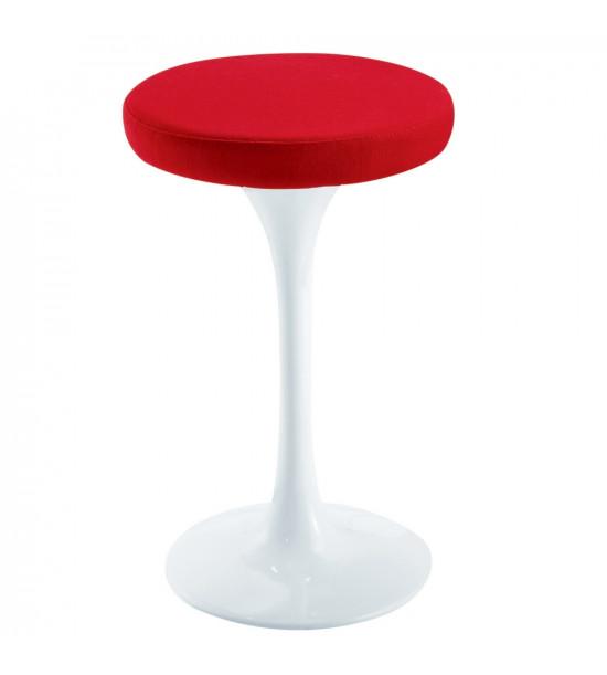 Fine Mod Imports FMI9252-RED Flower Stool Chair 25