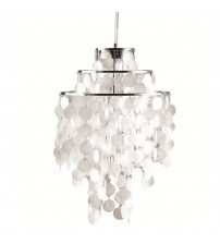 Fine Mod Imports Pearl Hanging Chandelier FMI9279, Mother of Pearl