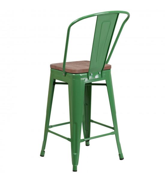 Flash Furniture CH-31320-24GB-GN-WD-GG 24