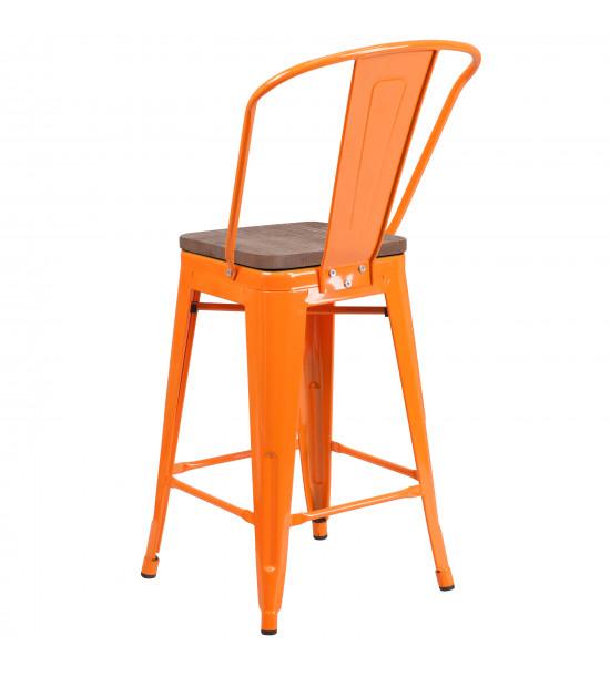 Flash Furniture CH-31320-24GB-OR-WD-GG 24