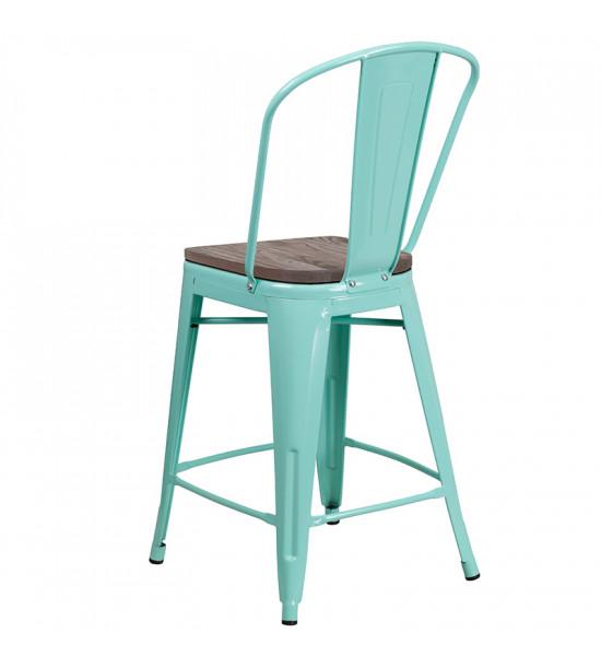 Flash Furniture ET-3534-24-MINT-WD-GG 24