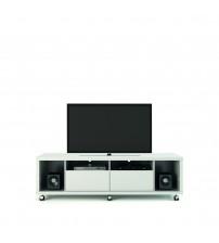 Manhattan Comfort 15484 Cabrini TV Stand 1.8 in White Gloss