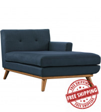 Modway EEI-1794-AZU Engage Right-Arm Chaise in Azure