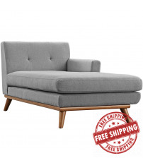Modway EEI-1794-GRY Engage Right-Arm Chaise in Expectation Gray