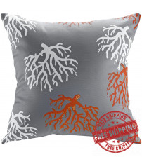 Modway EEI-2156-ORC Modway Outdoor Patio Pillow in Orchard