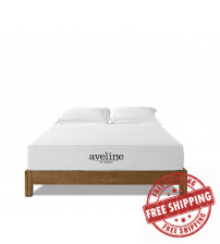 "Modway MOD-5489-WHI Aveline 10"" King Mattress in White"