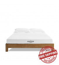"Modway MOD-5491-WHI Aveline 6"" King Mattress in White"