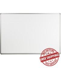 Flash Furniture YU-120X180-WHITE-GG Magnetic Marker Board