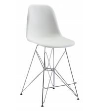 Zuo Modern 100582 Zip Counter Chair in White