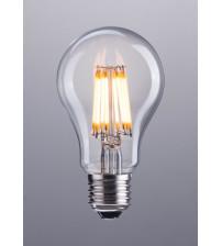 Zuo Modern P50024 E26 A19 8W LED 100 x 60 mm Clear