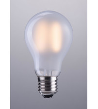 Zuo Modern P50025 E26 A19 2W LED 100 x 60 mm Frosted White