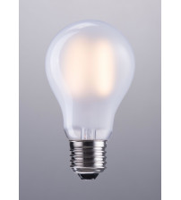 Zuo Modern P50028 E26 A19 8W LED 100 x 60 mm Frosted White