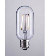 Zuo Modern P50035 E26 T45 2W LED 110 x 45 mm Clear