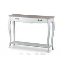 Baxton Studio ACT9VO/M B-CA Bourbonnais French Console Table