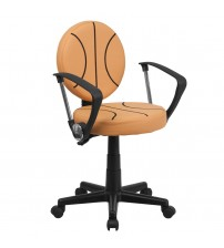 Flash Furniture Basketball Task Chair with Arms BT-6178-BASKET-A-GG
