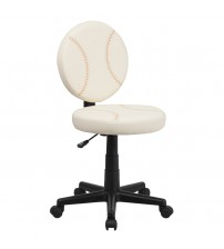 Flash Furniture Baseball Task Chair [BT-6179-BASE-GG]