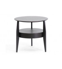 Baxton Studio End Table Black CT-173