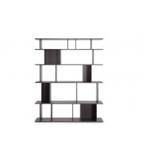 Baxton Studio D-293-BC Tilson Dark Brown Modern Bookshelf