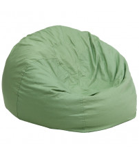 Flash Furniture Oversized Solid Green Bean Bag Chair DG-BEAN-LARGE-SOLID-GRN-GG