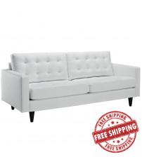 Modway EEI-1010-WHI Empress Sofa in White