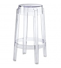 Modway EEI-171-CLR Casper Counter Stool in Clear