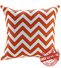 Modway EEI-2156-CHE Modway Outdoor Patio Pillow in Chevron