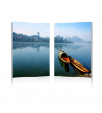 Baxton Studio Fg-1062Ab Traditional Travel Mounted Photography Print Diptych