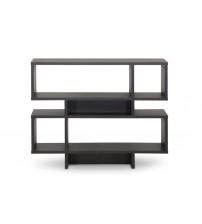 Baxton Studio FP-4DS-Shelf Cassidy 4-Level Modern Bookshelf in Dark Brown