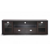 Baxton Studio Ftv-881 Gosford Brown Wood Modern Tv Stand