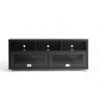 Baxton Studio TV Unit Dark Brown FTV-885