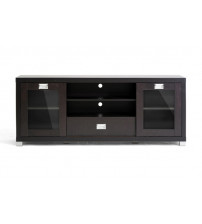 Baxton Studio TV Unit Dark Brown FTV-886